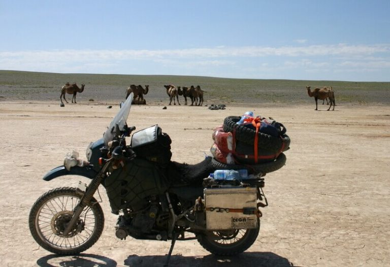 Day 62 ...but now we have mud flats, and camels loiter on the dry cracked land and the sky is bigger than ever.